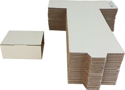 (50) CD Shipping Mailers - 6 CD Fold Up Cardboard Boxes Storage #CDBC06DC