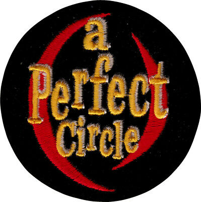 19114 A Perfect Circle Logo LA Rock Alt Metal Maynard Keenan Sew Iron On Patch