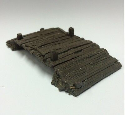 Javis Battle Zone Old Timber Bridge Wargaming Detail BZTB1