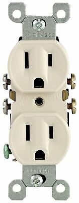 Grounded Duplex Outlet 10-Pack,No M26-05320-TMP,  Leviton Mfg Co