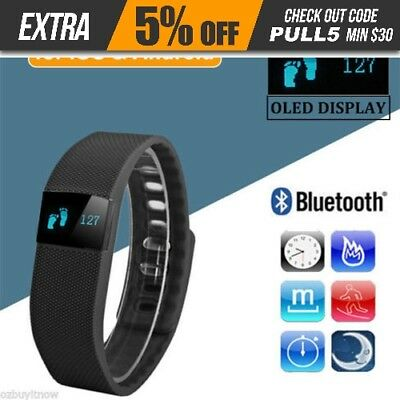 Bluetooth Smart Bracelet Wristband Fitness Tracker Android iOS Fitbit Style