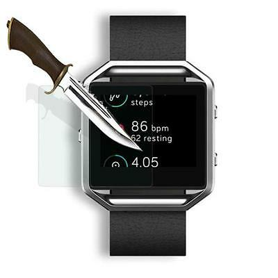 Premium Tempered Glass Film Screen Protector For Fitbit Blaze Smart Watch 2 Pcs