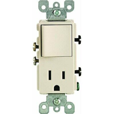 Switch And Outlet Combination,No S06-05625-OTS,  Leviton Mfg Co
