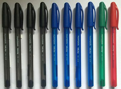 Papermate 'Inkjoy 100' Assorted Standard Colours Ballpoint Pens School 10-Pack