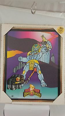 Mighty Morphing Power Rangers Poster Frame 1994