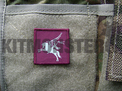 British Army Velcro backed Pegasus Airborne patch badge full colours 16AA 4x4cm