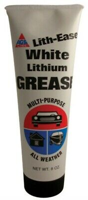 White Lithium Grease,No WL-8,  A G S Company