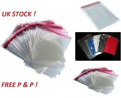 Clothing Garment T Shirt Clear Cellophane Bags With Self Seal Adhesive Tape