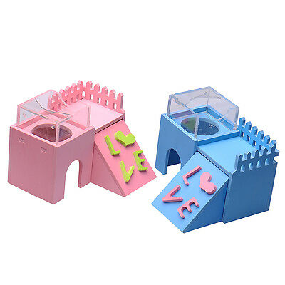 New interesting Pet Small Animal hamster's colorful toys house bed villa toy