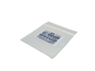 """(25) 12SB02SS 12"""" Vinyl Record LP Polyclear Sealable Outer Sleeves Bags Covers"""