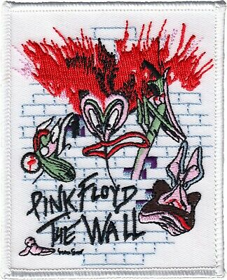 9600  Pink Floyd The Wall Rock Music Band London Iron On Patch 70s Cartoon Logo