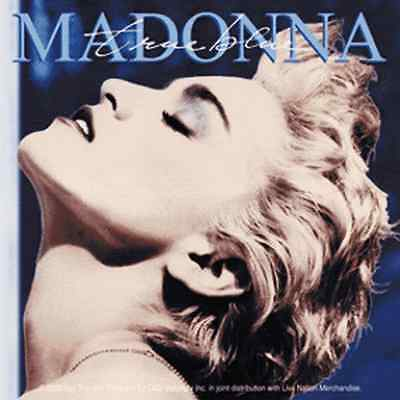 15655 Madonna True Blue Album Cover Sticker Decal 1986 Eighties Pop 1980s 80's