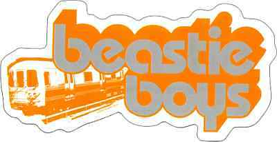 15787 Beastie Boys Train Logo Rap Rock Band Music MCA Mike D Sticker / Decal New