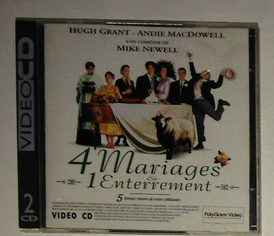 Cdi Philips / 4 Mariages & 1 Enterrement / Hugh Grant - Macdowell