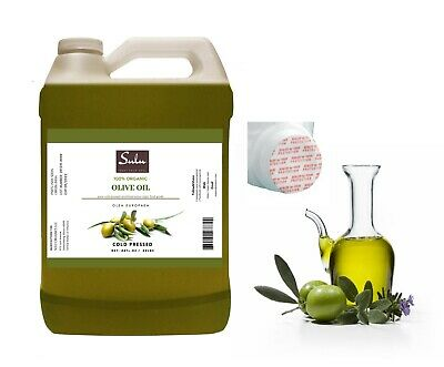 7 Lbs Of Best Quality 100% Pure Organic Unrefined Olive Oil Extra Virgin