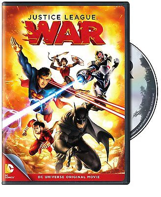 JUSTICE LEAGUE : WAR  (DC Universe Movie) - DVD -REGION 1 - Sealed