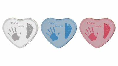 Happy Hands - Hand and Footprint Tin