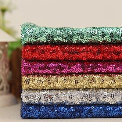 Sparkly Sequin Fabric, for Wedding/Event Table/Party Decor