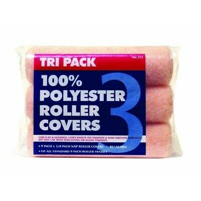 Tri Pack Knitted Roller Cover,No 1730,  Premier Paint Roller/Z Pro