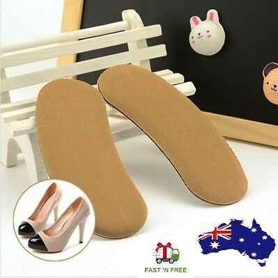 Sticky Fabric Back Heel Liner Grips Shoes Inserts Insole Pads Cushion Protectors