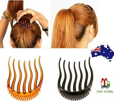 Ponytail Inserts Hair Clip Bun Maker Bouffant Volume Wedding Hair Comb Styling
