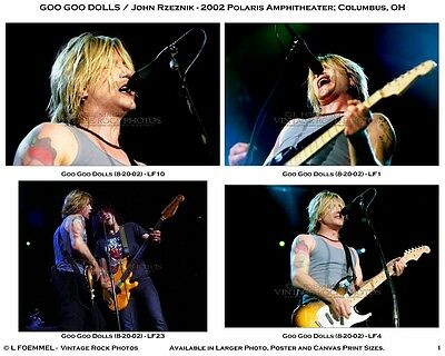 Goo Goo Dolls, Photos 4x6 inch Set of 28 Prints 2002 Columbus OH Live Concert L1