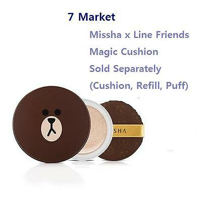 [Limited Edition]Missha x Line Friends Magic Cushion Sold Separately + Free Gift