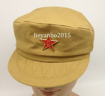 Chinese Communist Army Military Military Officer Cotton Hat Cap 50 Size L