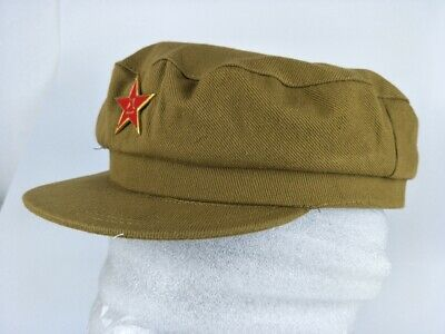 Chinese Communist Army Military Military Officer Cotton Hat Cap 50 Size Xl