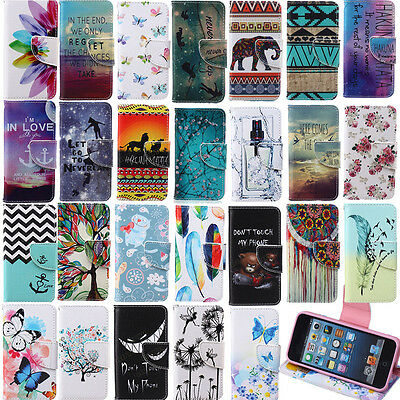 PU Leather Wallet Stand Cover For Samsung Galaxy A3 A5 A7 Note 3/4/5 Phone Case