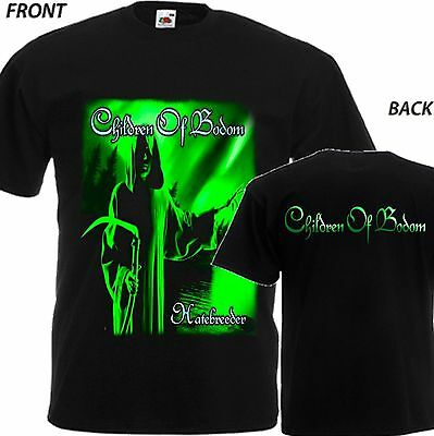 "New T-Shirt ""hatebreeder By Metal Band Children Of Bodom"" Dtg Printed Tee-S- 6Xl"