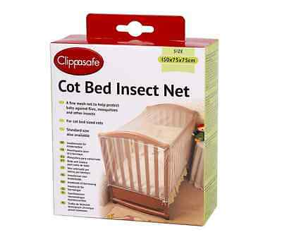 Clippasafe Cot Bed Insect Net (150x75x75cm)