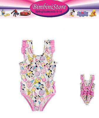Costume mare piscina neonata Minnie originale Disney gelato