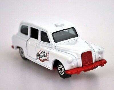 Coca-Cola Coke Modell-Auto Die-Cast Car Matchbox 2001 OVP London Taxi FX4R Cab