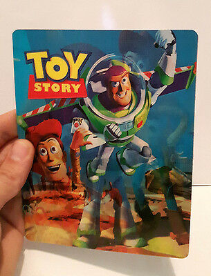 Toy Story 3D lenticular Flip effect for Steelbook