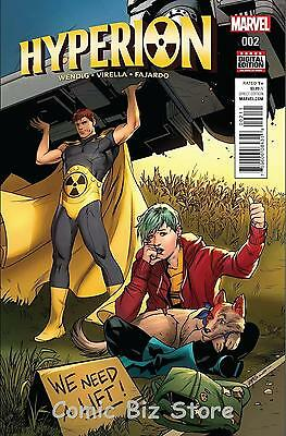 Hyperion #2 (2016) 1St Printing Bagged & Boarded