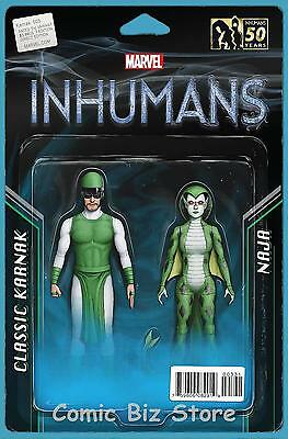 Karnak #3 (2016) 1St Printing Christopher Action Figure Two Pack Variant Cover