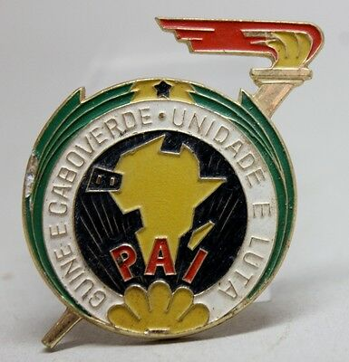 African Party for the Independence of GUINEA and CAPE VERDE - PAI Pin Badge