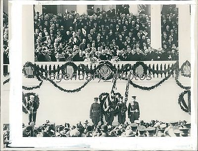 1929 Presidential Inauguration of Herbert Hoover Original News Service Photo