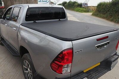 NEW 2016+ Toyota Hilux Soft Folding Tonneau Cover - Premium Quality