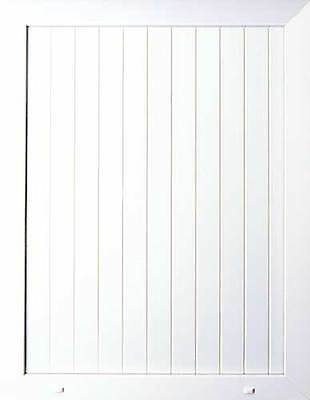 PVC uPVC White Half Door Panel 24mm 28mm 790mm x 950mm  T+G