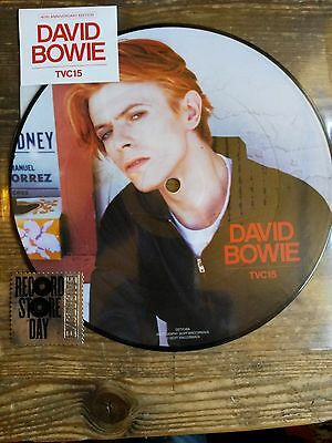 "David Bowie - Tvc15 - Rare Pd 7""Single - Rsd 2016 - New"
