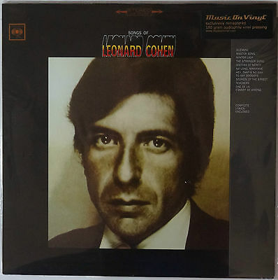 Leonard Cohen - Songs Of... LP 180g remastered vinyl NEU/SEALED