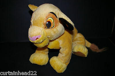 Plush Simba Soft Toy From The Lion King Disney Store Exclusive