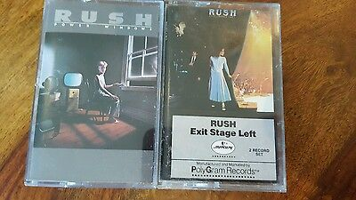 2 rush cassette - power windows and exit stage left