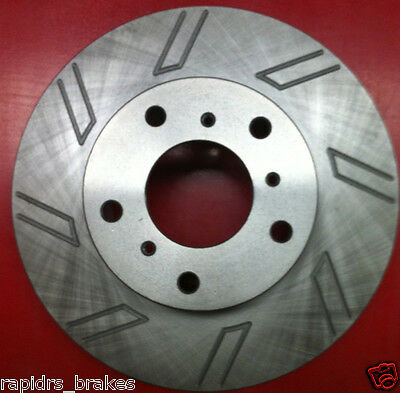 Commodore Calais Vt Vx Vu Vy Vz Disc Brake Rotors Slotted Full Set With Pads