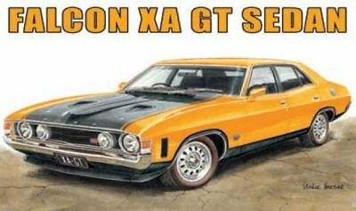 Australian Cars & Transport Ford Falcon XA GT 4 Door Tin Sign