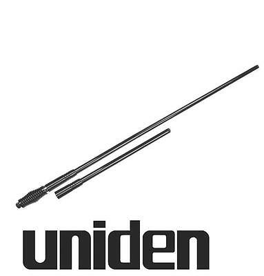 UNIDEN AT970BK TWIN PACK UHF CB ANTENNA 6.6dBi + 3.0dBi Whip BLACK 6.6DBi 3DBI