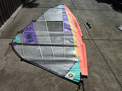F2 Arrows 5.6 metre Grand Slam Slalom Wind surfing sail Second Hand Surf