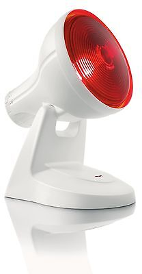 Philips InfraPhil 150W Infrared Lamp Effective Muscular Pain Relief HP3616/01